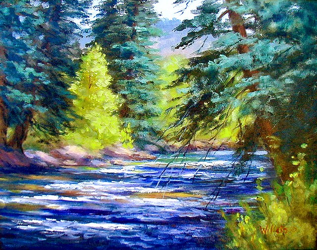 """Big Thompson -- Spring Runoff"""